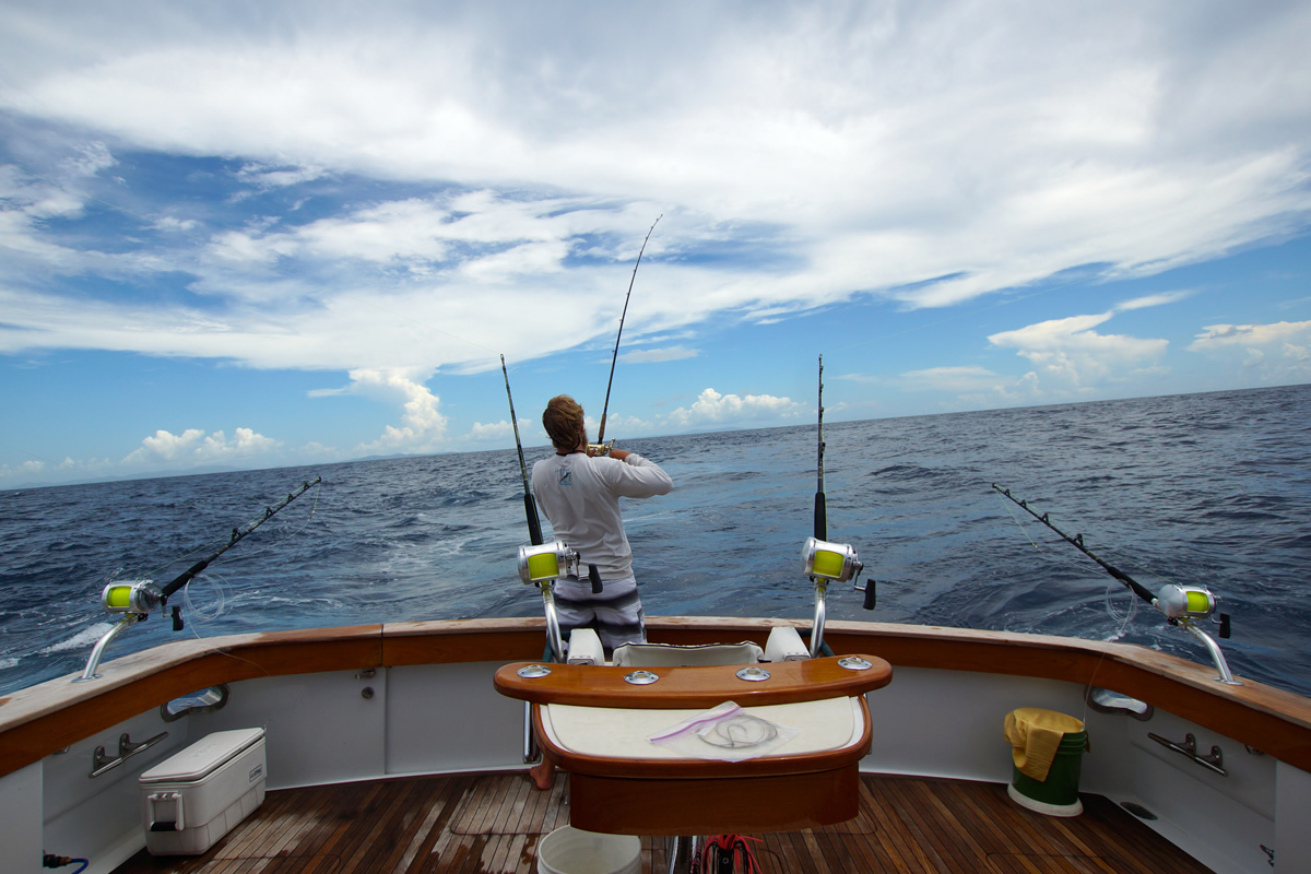 blue water fishing